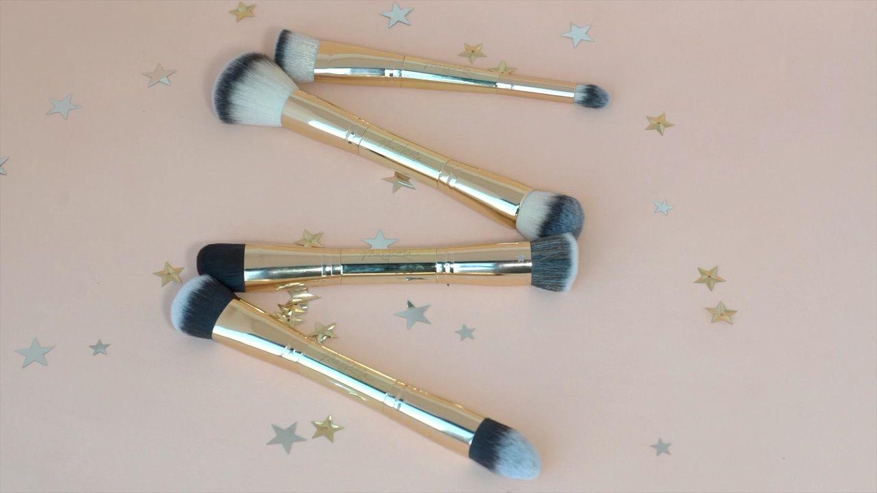 Less brushes mean less time applying your makeup🥳 #maskcarabeauty #makeupbrush #quickmakeup #fastmakeup