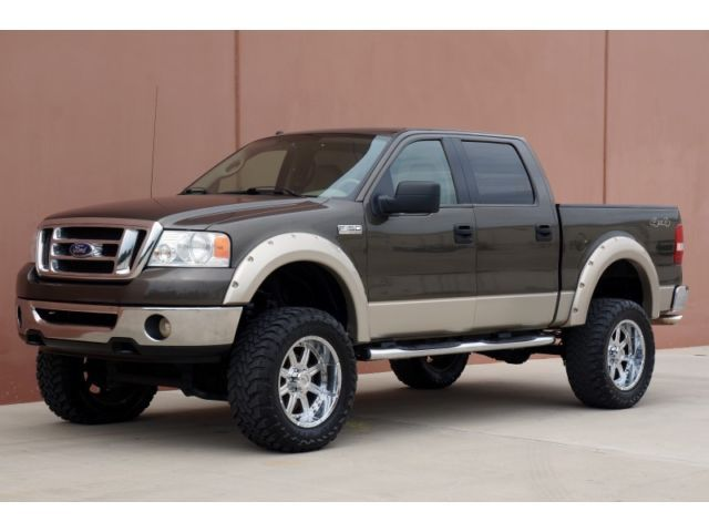 Ford F  X Ford F  X  Crew Cab Lifted  Owner Carfax Cert Leather Park