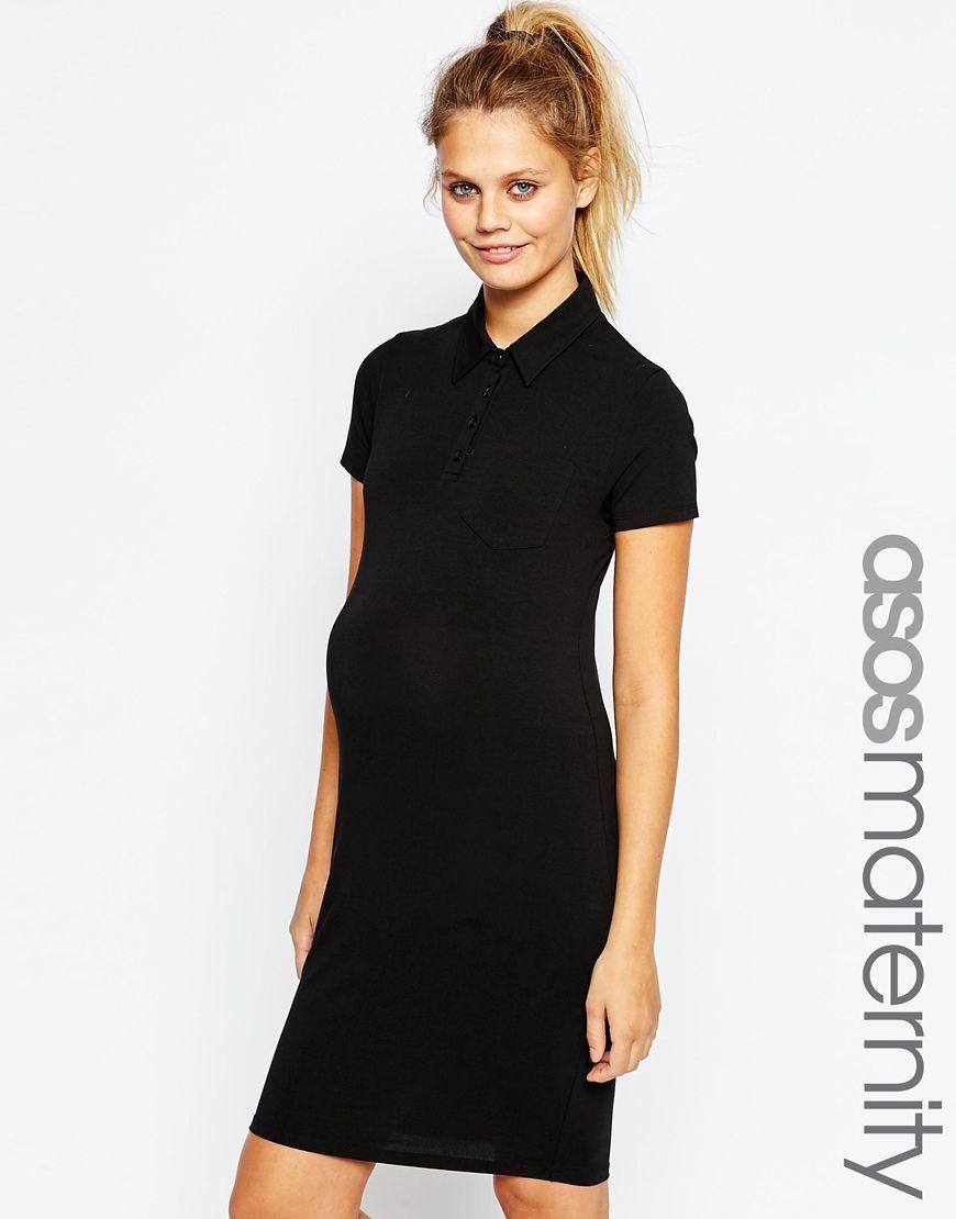 Asosmaternitypoloshirtdress maternity clothes pinterest asosmaternitypoloshirtdress ombrellifo Choice Image