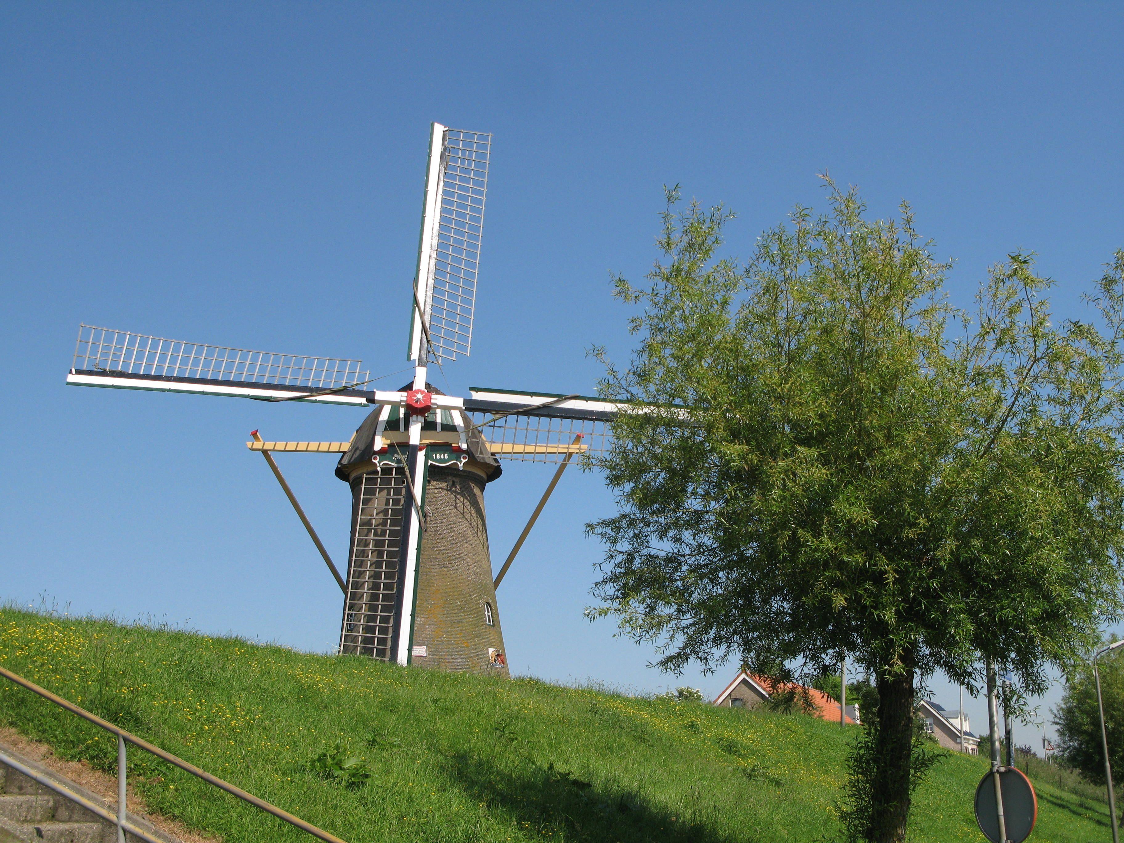 de Molen van Piershil, Zuid Holland