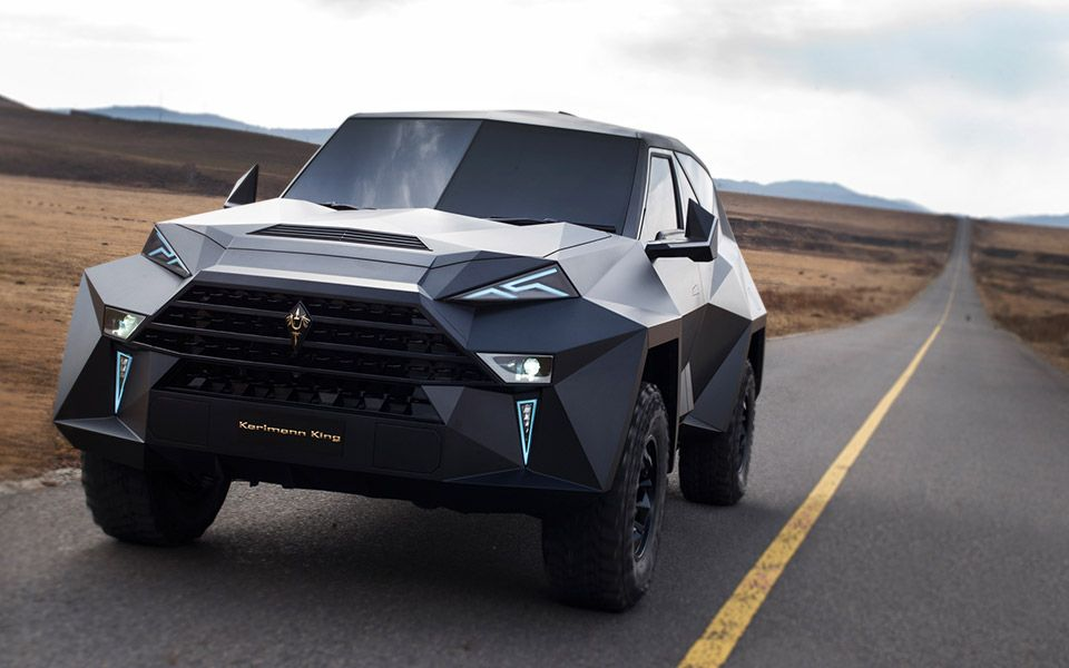 The Karlmann King Was Announced At Dubai International Motor Show Last Year And It Is Designed To Be One Of Most Rugged Suvs Available