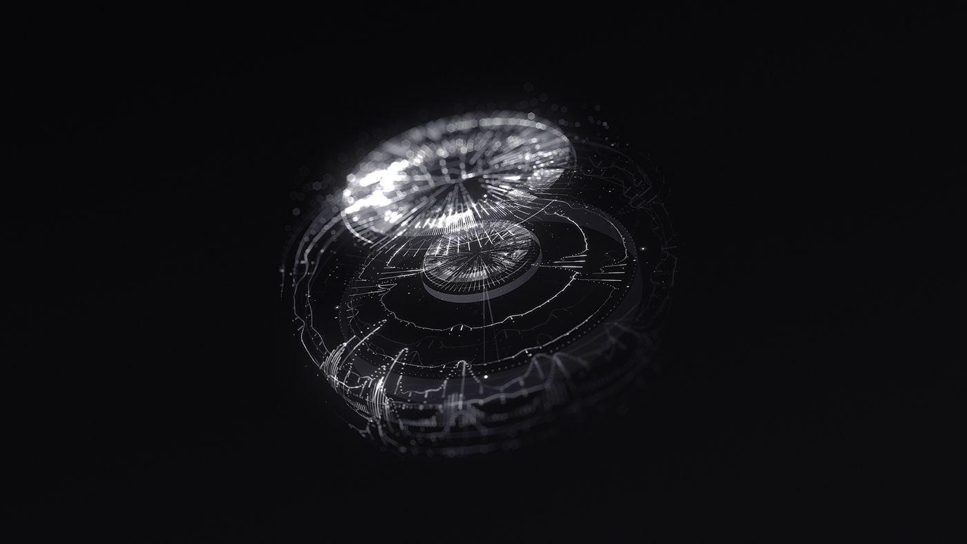 VEGAS Virtual interface on Behance   Graphisme
