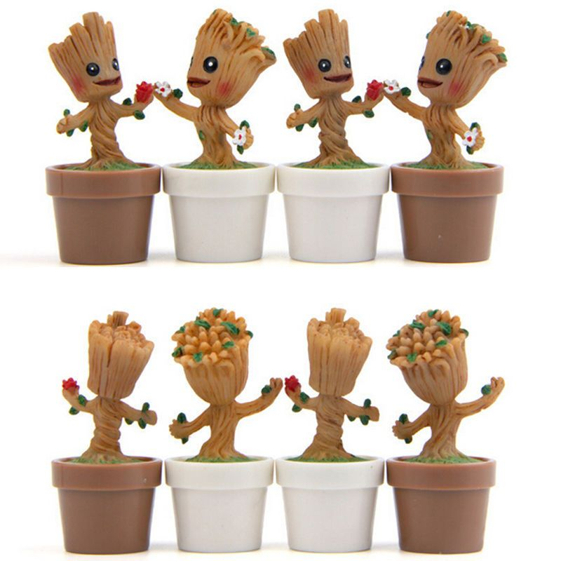Guardians of the Galaxy VOL-2 Baby Groot Action Figure Model Statu PVC Kids Toy