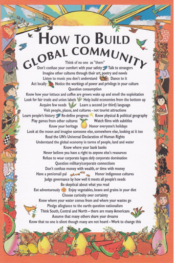 go global  global connectedness and global citizenship education