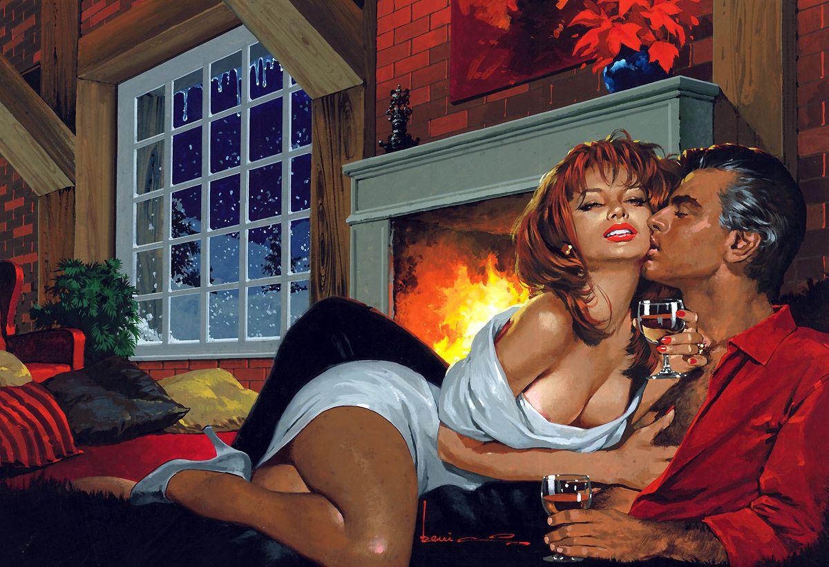 Две женщины и мужик во сне ретро, толпой молодую девушку порно