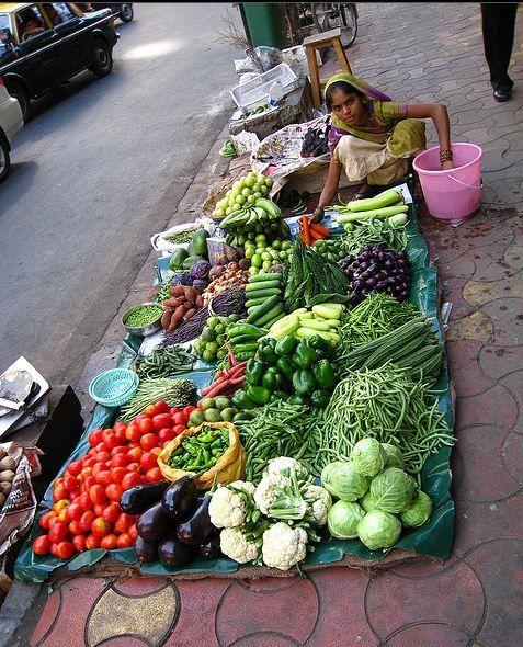 Street vendor. Mumbai, India.