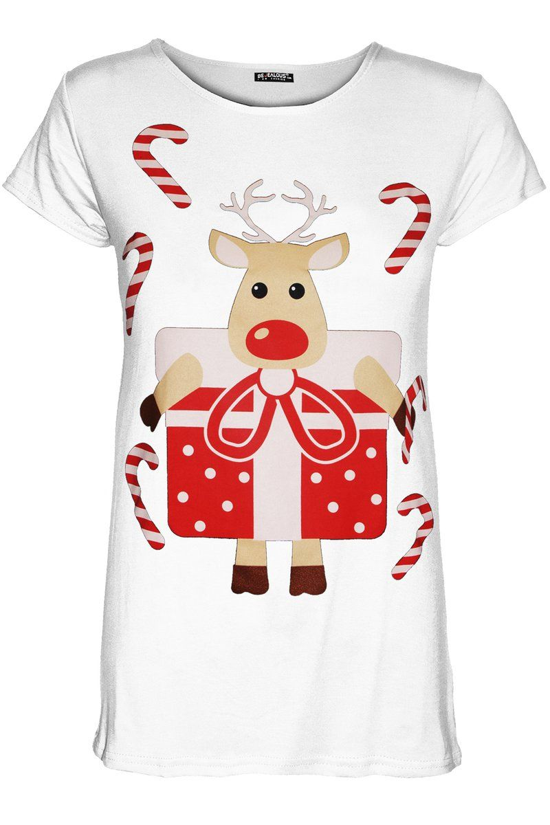 7437d33d737 Christmas Reindeer Graphic T-shirt £14.00 Get ready for Christmas with this  baggy tee