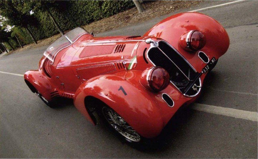 Alfa Romeo  U2013 1938 Alfa Romeo 8c 2900b Mille Miglia Spider