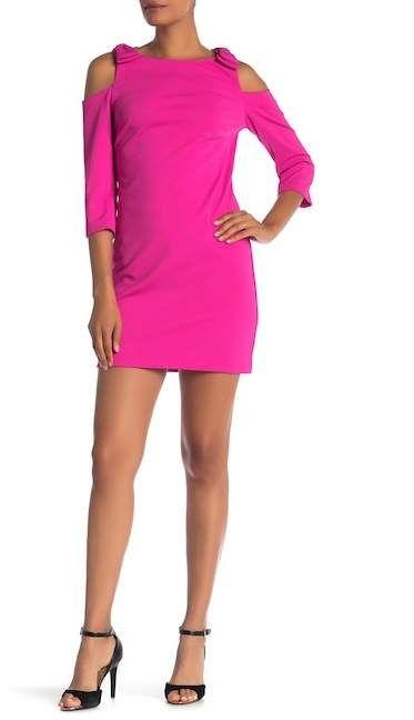17030a8c213 Trina Turk trina Aria Cold Shoulder Sheath Dress