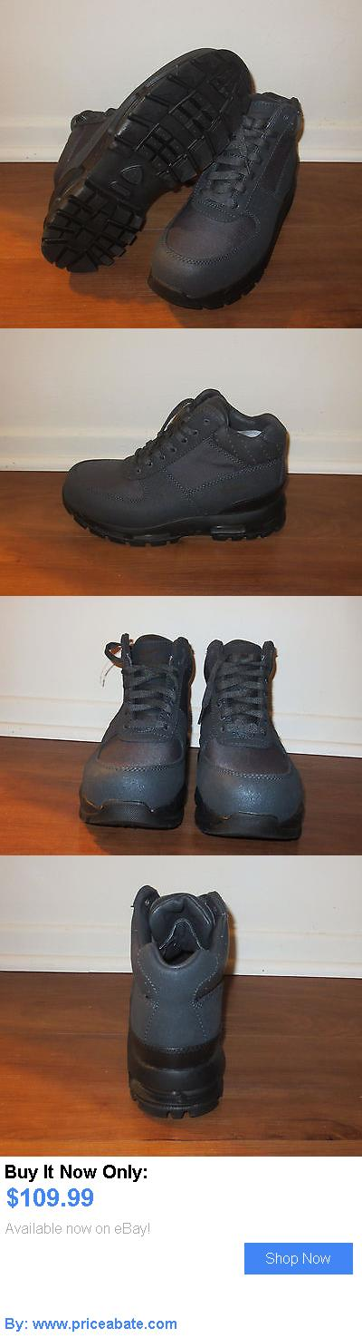 Men Shoes: Brand New Mens Nike Acg Air Max Goadome Black Leather Boots. Size 8 BUY IT NOW ONLY: $109.99 #priceabateMenShoes OR #priceabate
