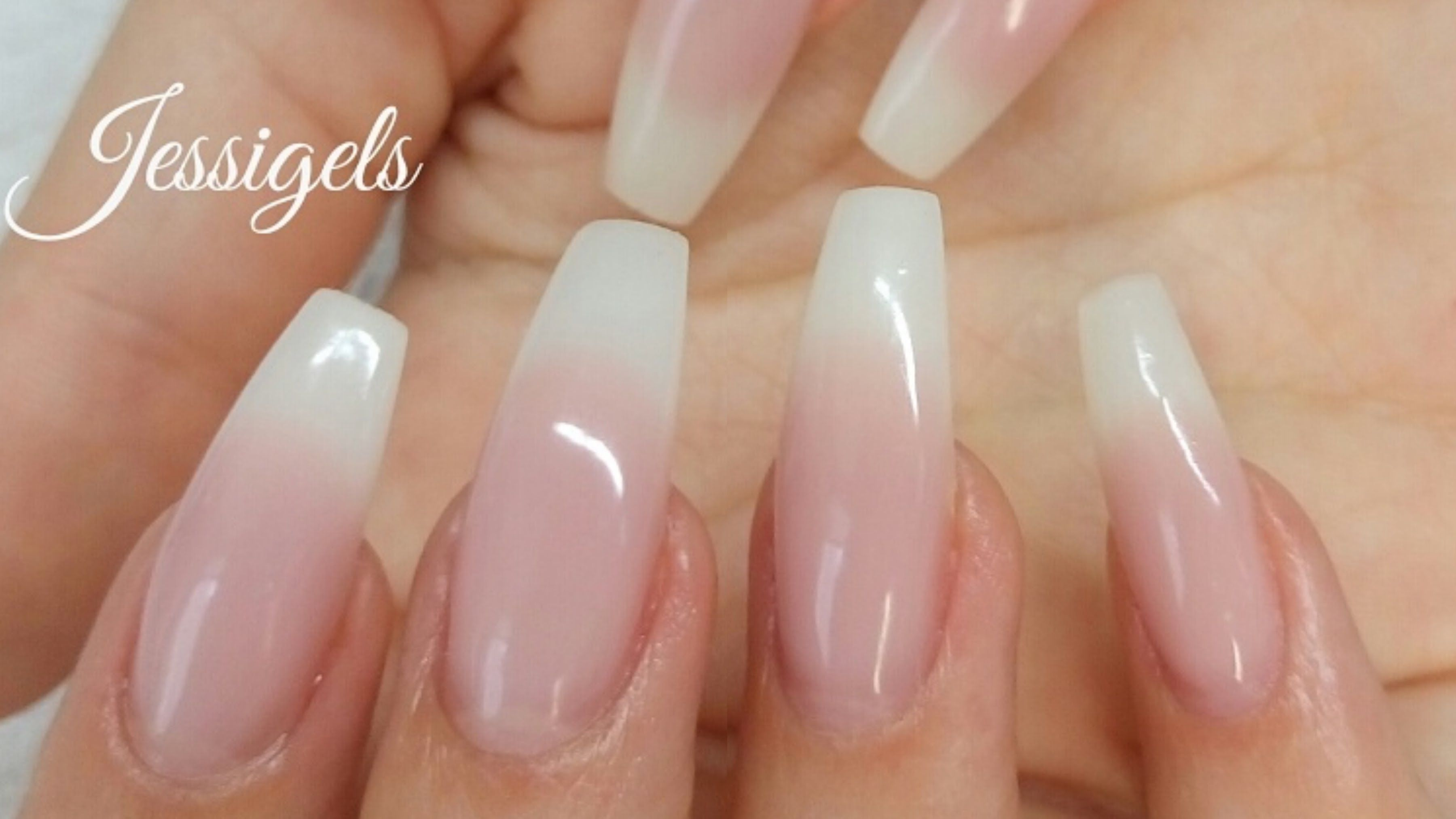 How To Natural Gelnails Nail Art Tutorial Step By Video