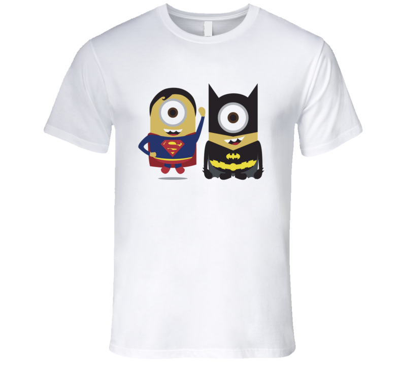 Batman Vs Superman Cute Funny Minions T Shirt | T SHIRTS ...