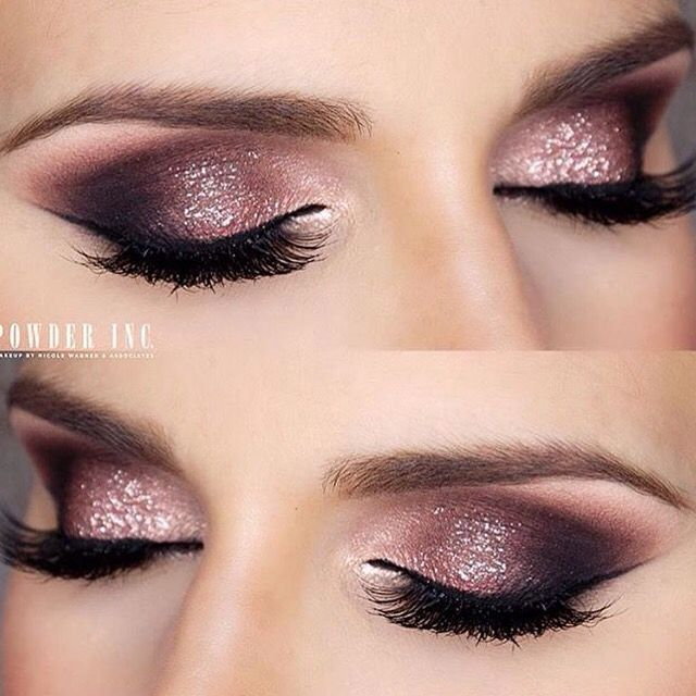 Eyemakeup Inspiration Powderincmakeup Sparkled Clients Eyes With