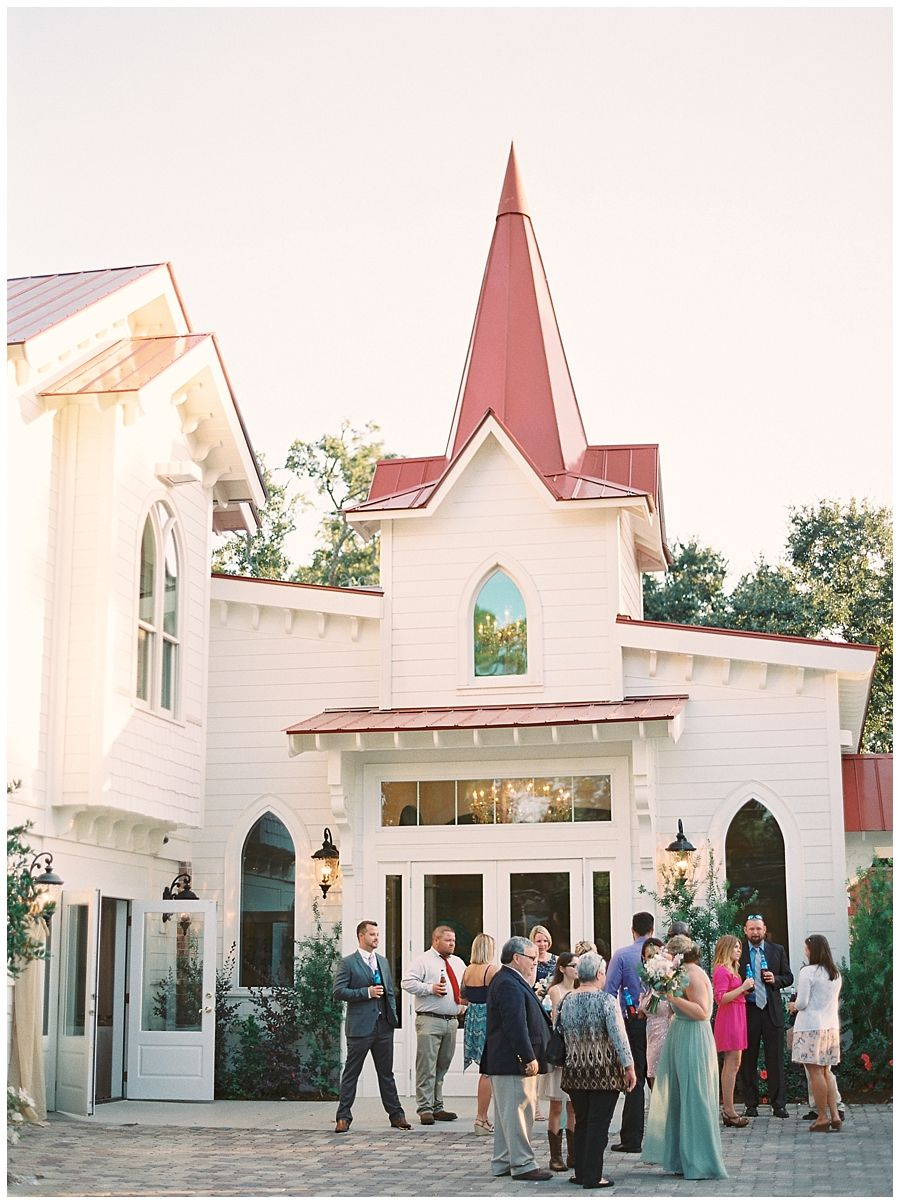 Tybee Island Chapel Wedding In Georgia Photographed By Julie Paisley Photography