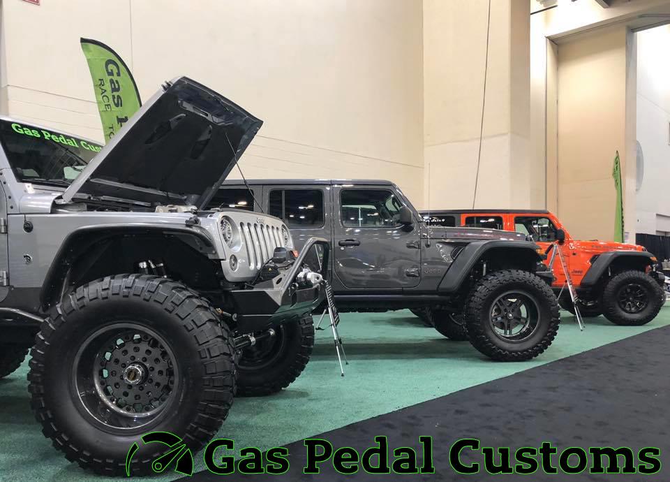 Hellcat Jeep Wrangler And Two Turbocharged Jeep Wrangler Jls
