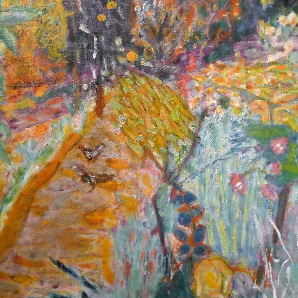 """Pierre Bonnard (1867-1947) """"Le Jardin"""", dét. (c.1936) musée d'Art moderne de la Ville de Paris au Palais de Tokyo ( Paris, France)"""