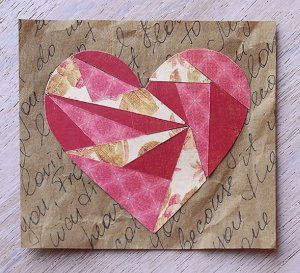 15 valentines day paper crafts heartfelt homemade valentine cards and projects - Valentine Paper Crafts
