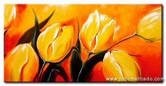 Cuadros modernos oleos abstractos tnicos figurativos juveniles muy alegres la florida santiago - Cuadros juveniles modernos ...