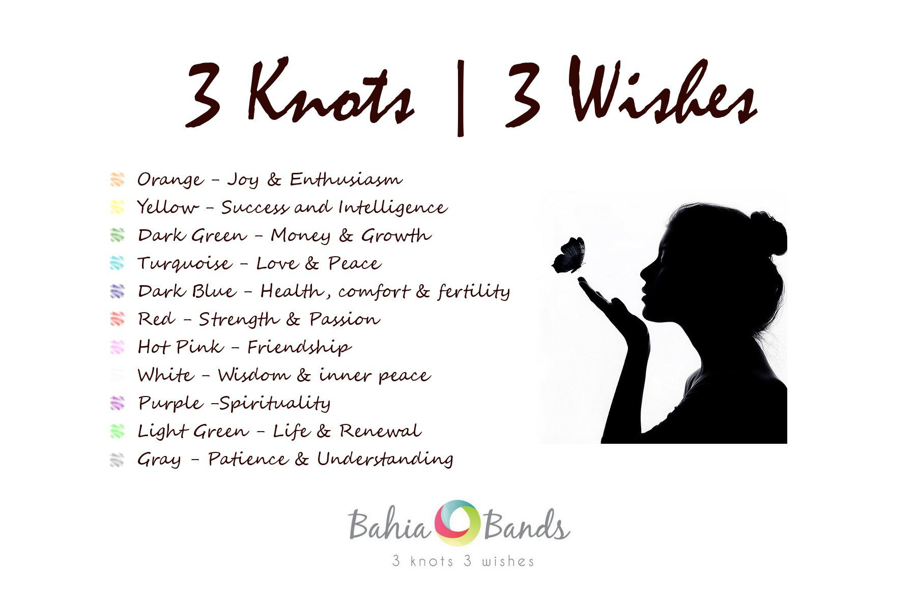 3 Knots 3 wishes....I recently tied a red one on