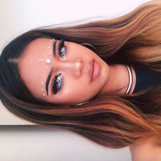 Festival Makeup -   10 makeup Festival boho ideas