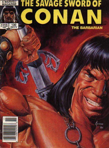 "Joe Jusko Savage Sword of Conan | LOVE COMIC BOOKS!"": JOE JUSKO SAVAGE SWORD COVERS. .part 1"