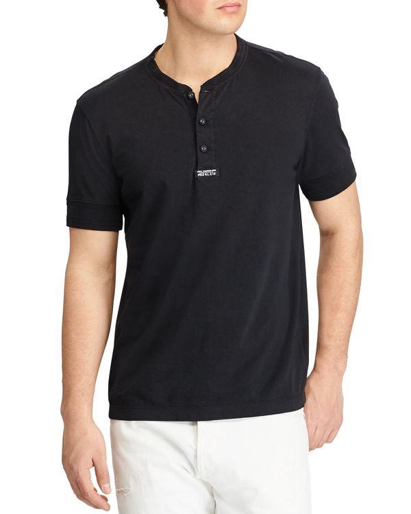 Polo Ralph Lauren Cotton Jersey Henley Tee  bc82434b015