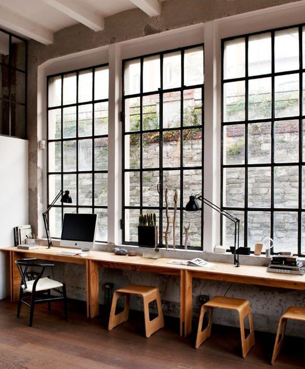 Nice 12 Comfy Home Office Window Design Ideas. More at https ...