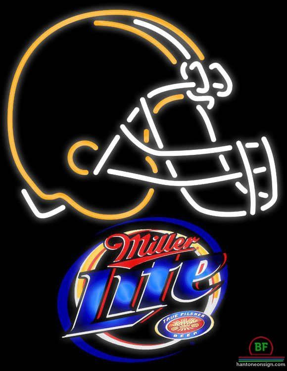ac270b00 Miller Lite Cleveland Browns Neon Sign NFL Teams Neon Light | art ...