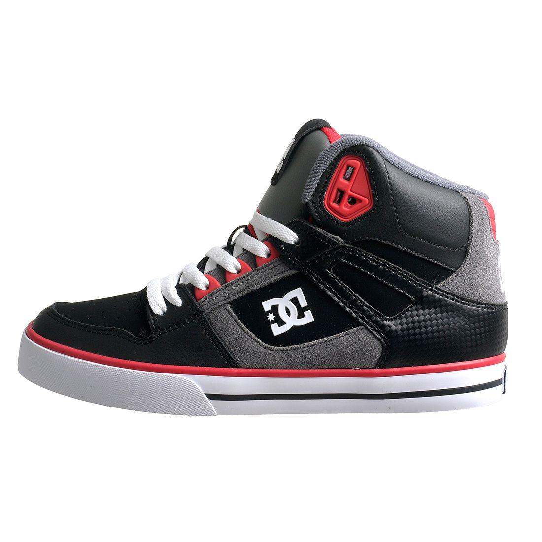 Dc Shoes Men S Spartan High Wc Black Skateboarding Shoes Dc Shoes Men Dc Shoes Shoes Mens