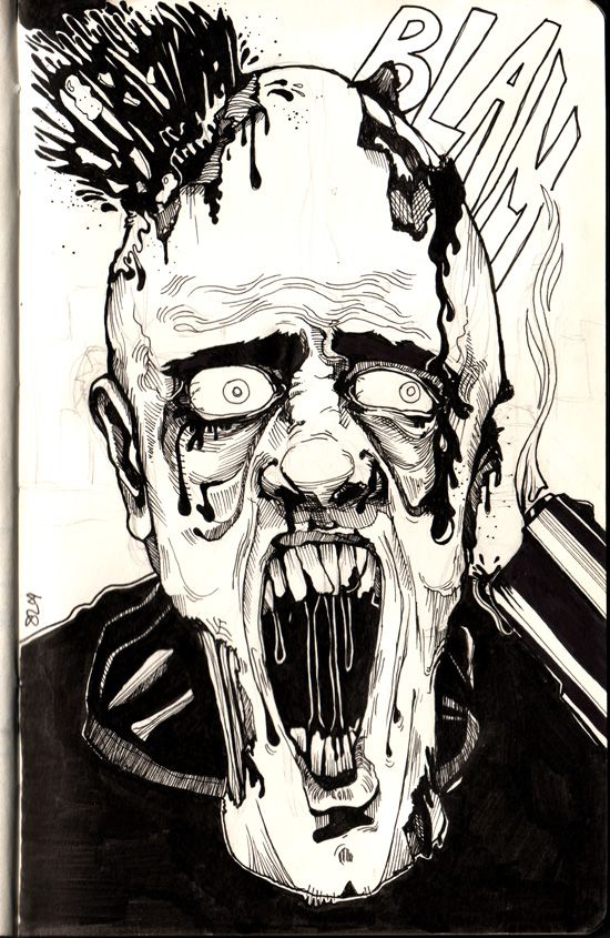 Call Of Duty Zombie Coloring Pages For Kids