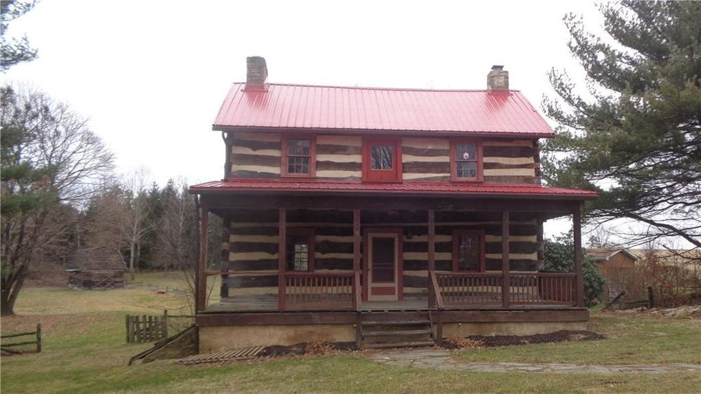 Under 100K Sunday Pre Civil War Log Cabin For Sale in