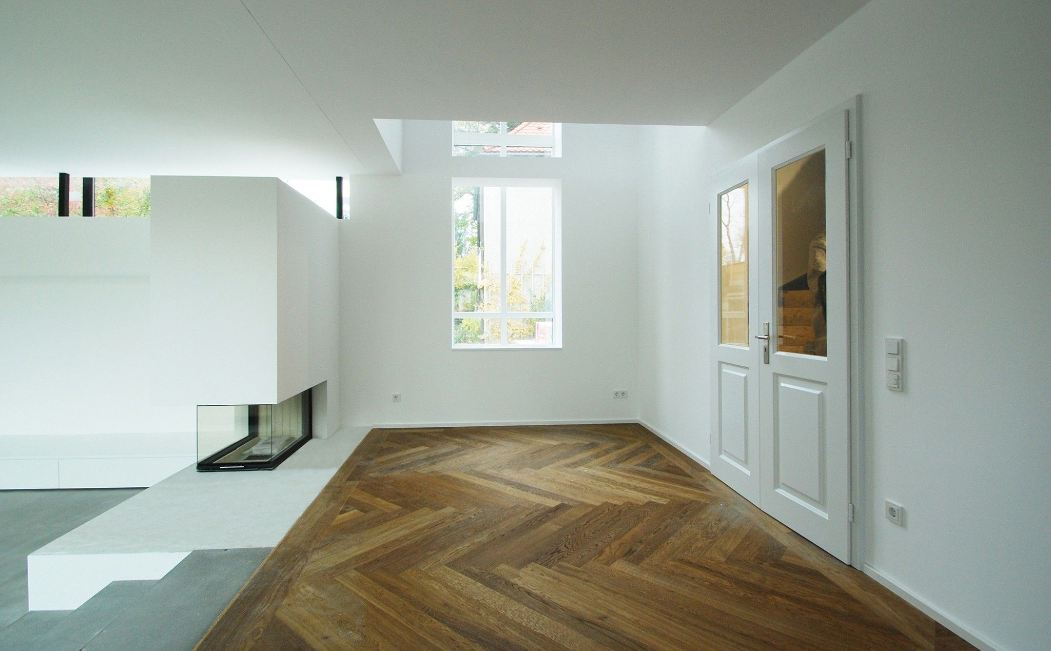 Umbau Haus L in München-Pasing | Kamin | Pinterest