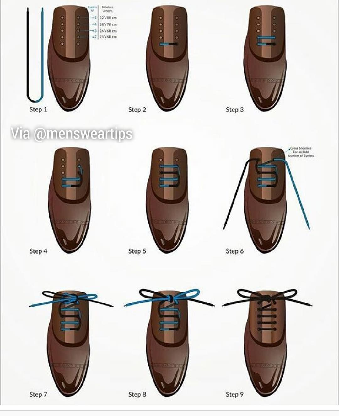 here is a step by step guide to a bar lacing by