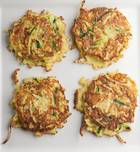 Fresh Zucchini Fritters (With images) Zucchini fritters