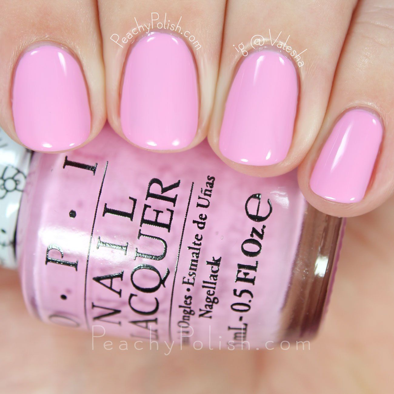 Opi Look At My Bow Hello Kitty Collection Peachy