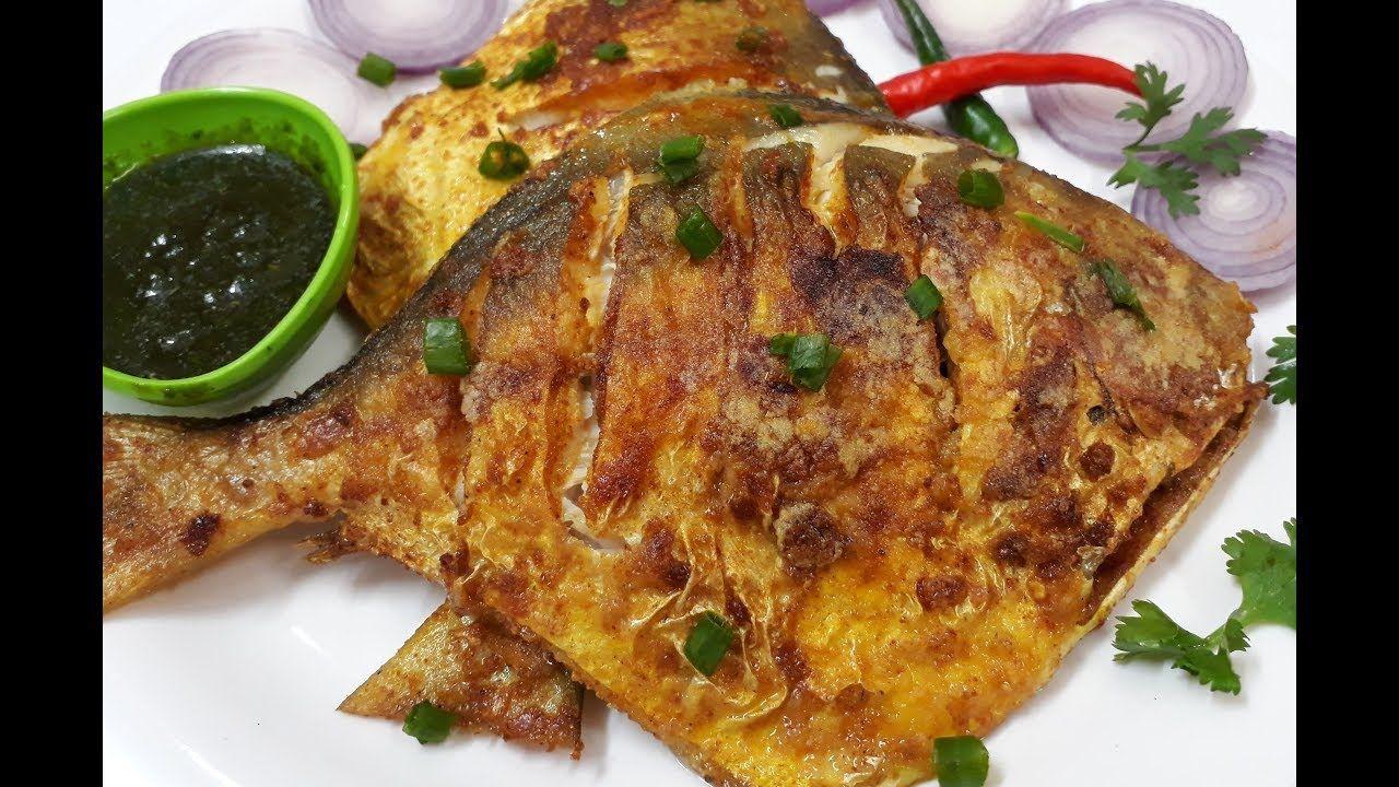 Super Tasty Jumbo Pomfret Fish Fry Recipe In English Fried Fish Recipes Pomfret Recipe Recipes