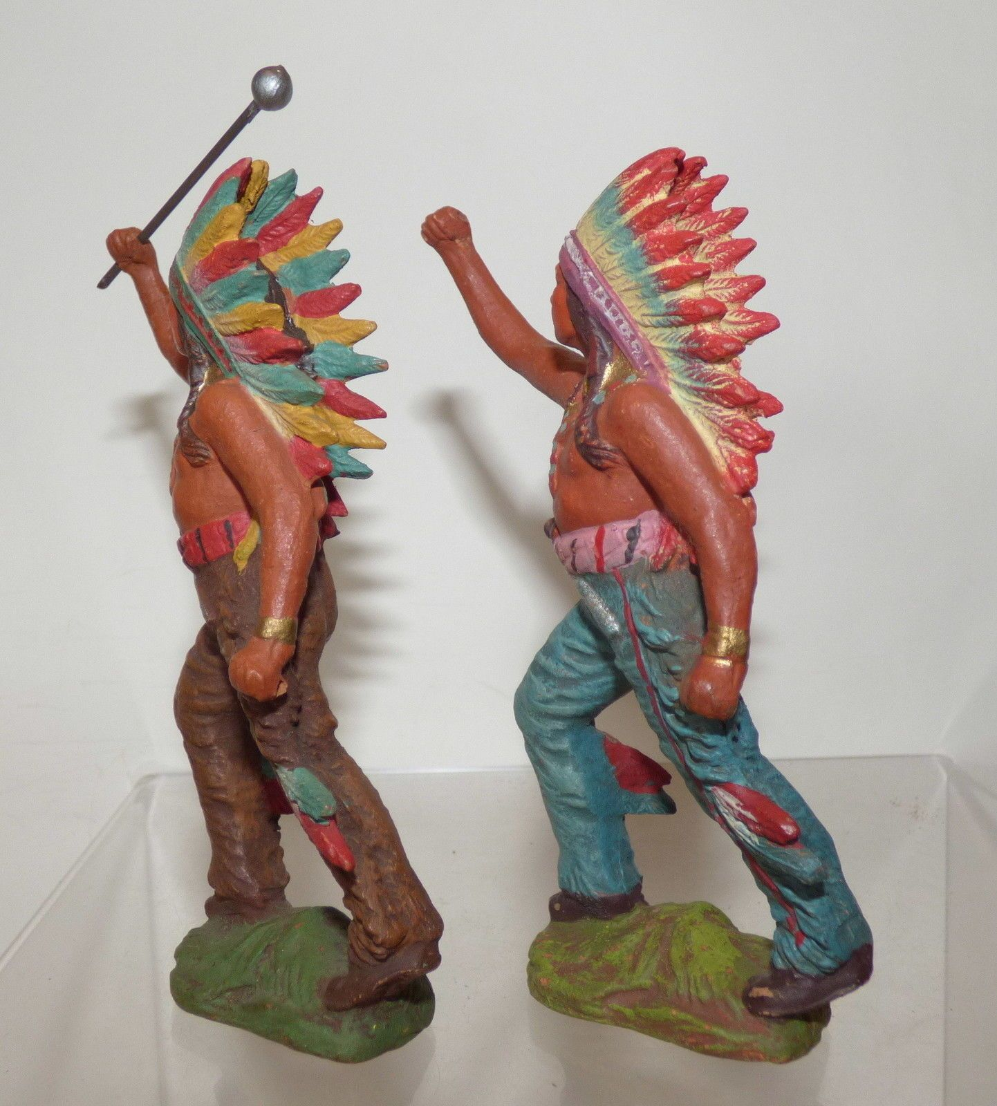 LC04 - 2 pcs 110 mm Pfeiffer N A Indians with bolus | eBay