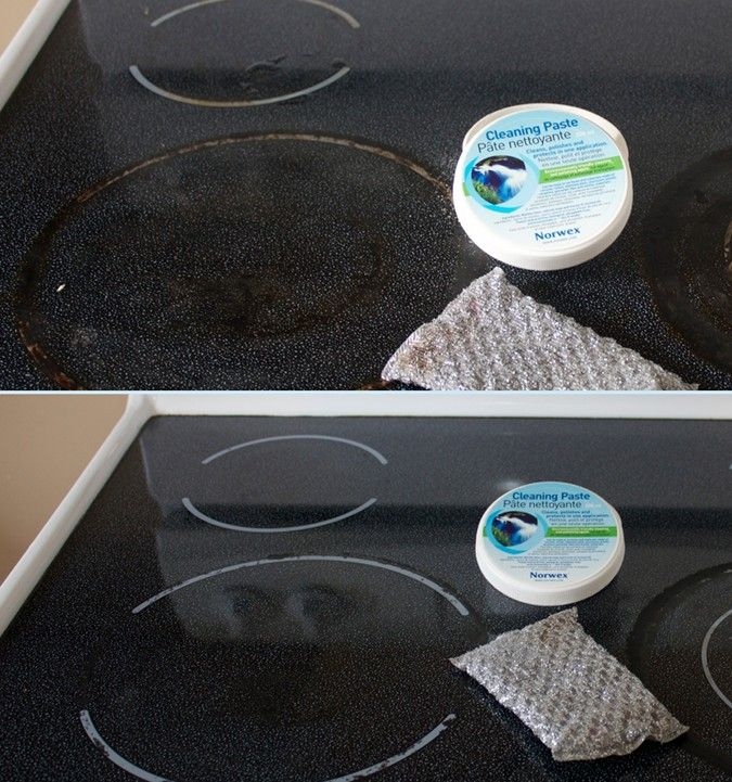 How To Clean A Ceramic Stove Norwex