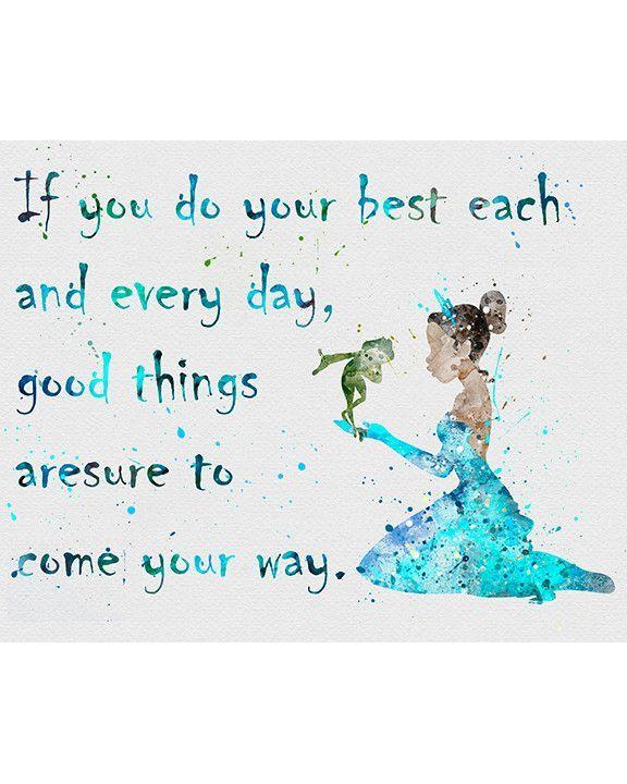 Princess Tiana Quote 2 Disney Disney Quotes Quotes