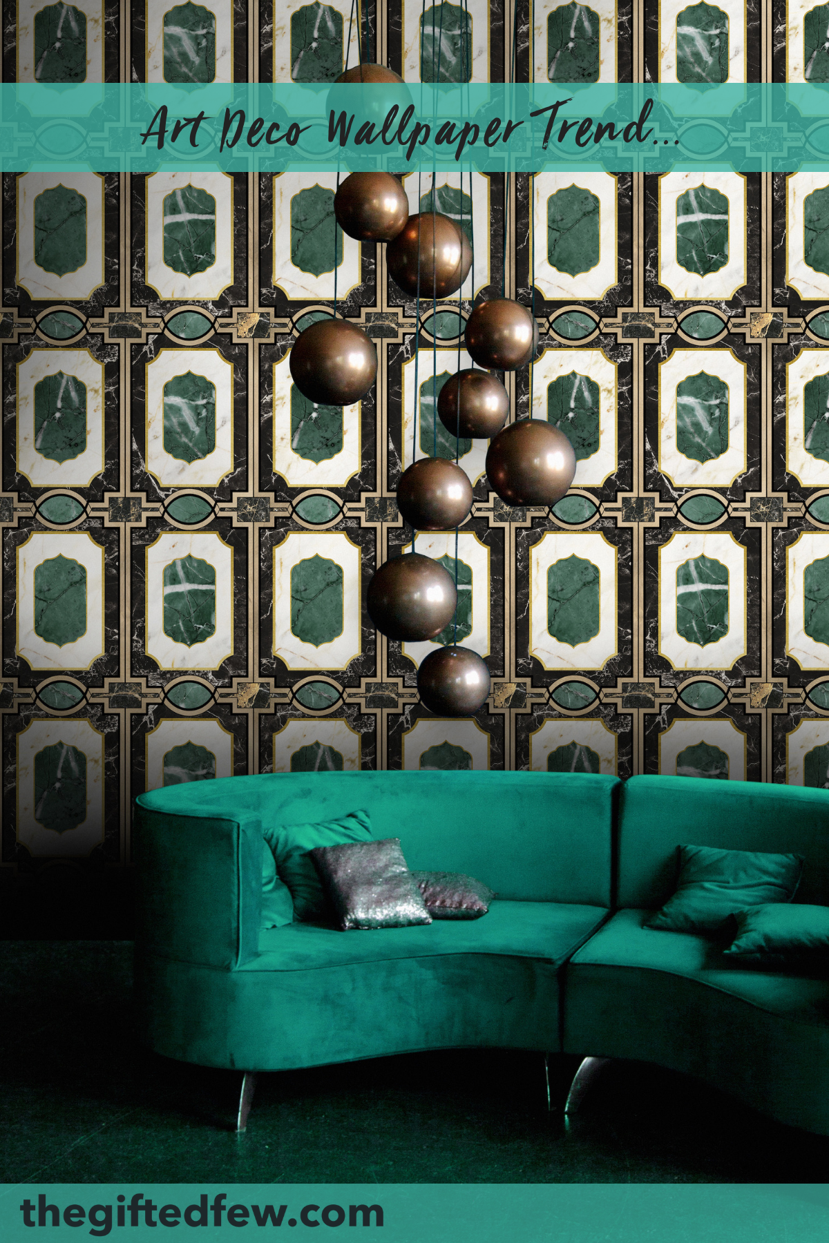 Best Waldorf Emerald Wallpaper Art Deco Wallpaper Art Deco 400 x 300