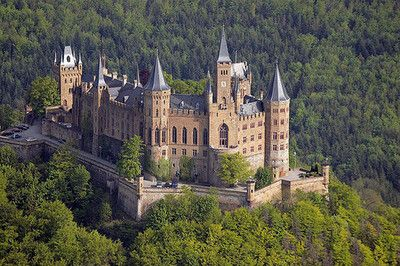 All Things Europe Europe Castles Hohenzollern Castle Castle