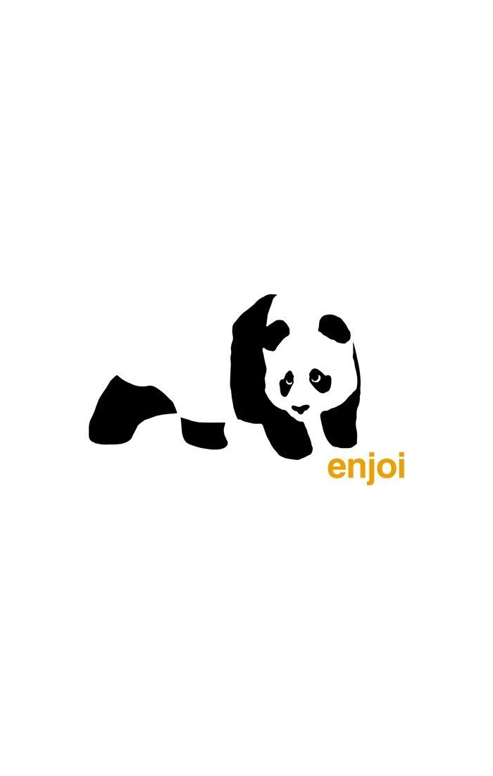 Panda vinyl sticker decal skate surf snowboard skateboard clothing enjoi JDM