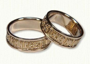 norwegian wedding bands traditionalsaying i am to my beloved as my beloved is to