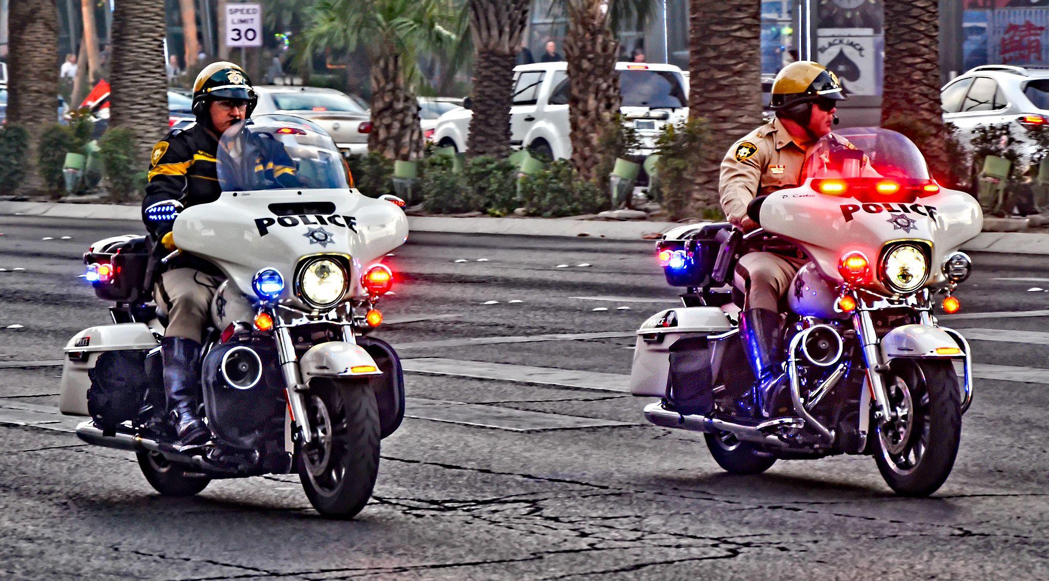 Las Vegas Metropolitan Police Emergency Vehicles Police Las Vegas