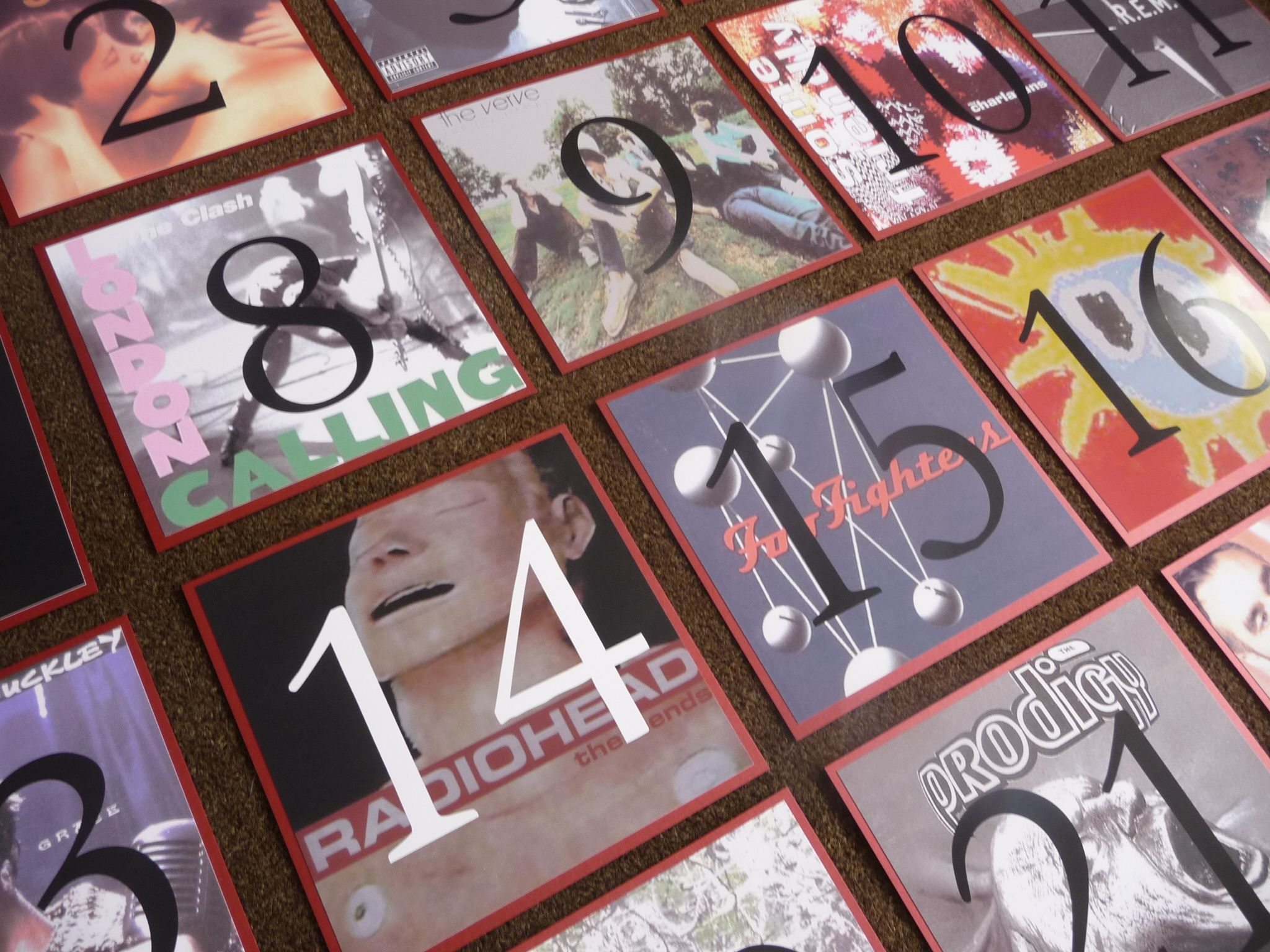 Music Album Cover theme Wedding & Special Occasion Table Names | If