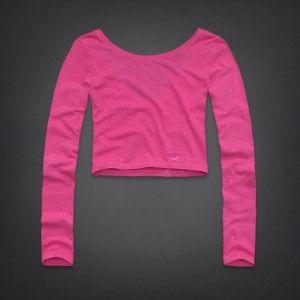 Camiseta Hollister Rosa HO2232