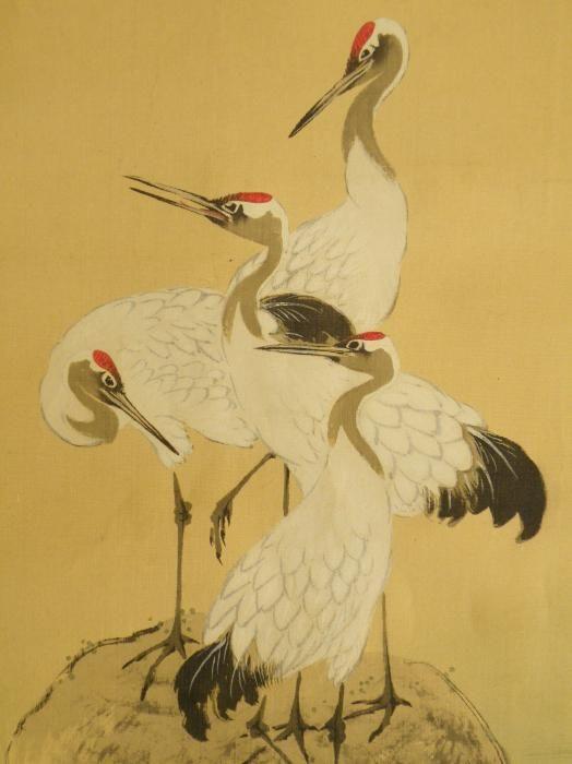 Image Gallery Japanese Crane Symbolism
