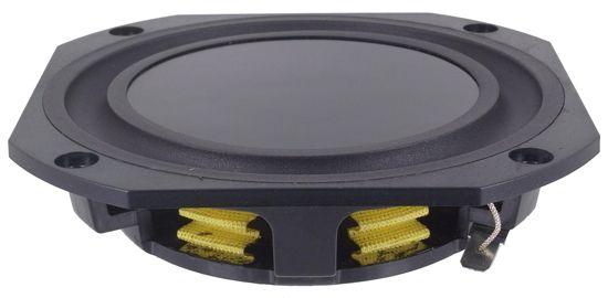 """Peerless FLT100N38-08 4.5"""" Flat Woofer - 8 ohm - Speaker News"""