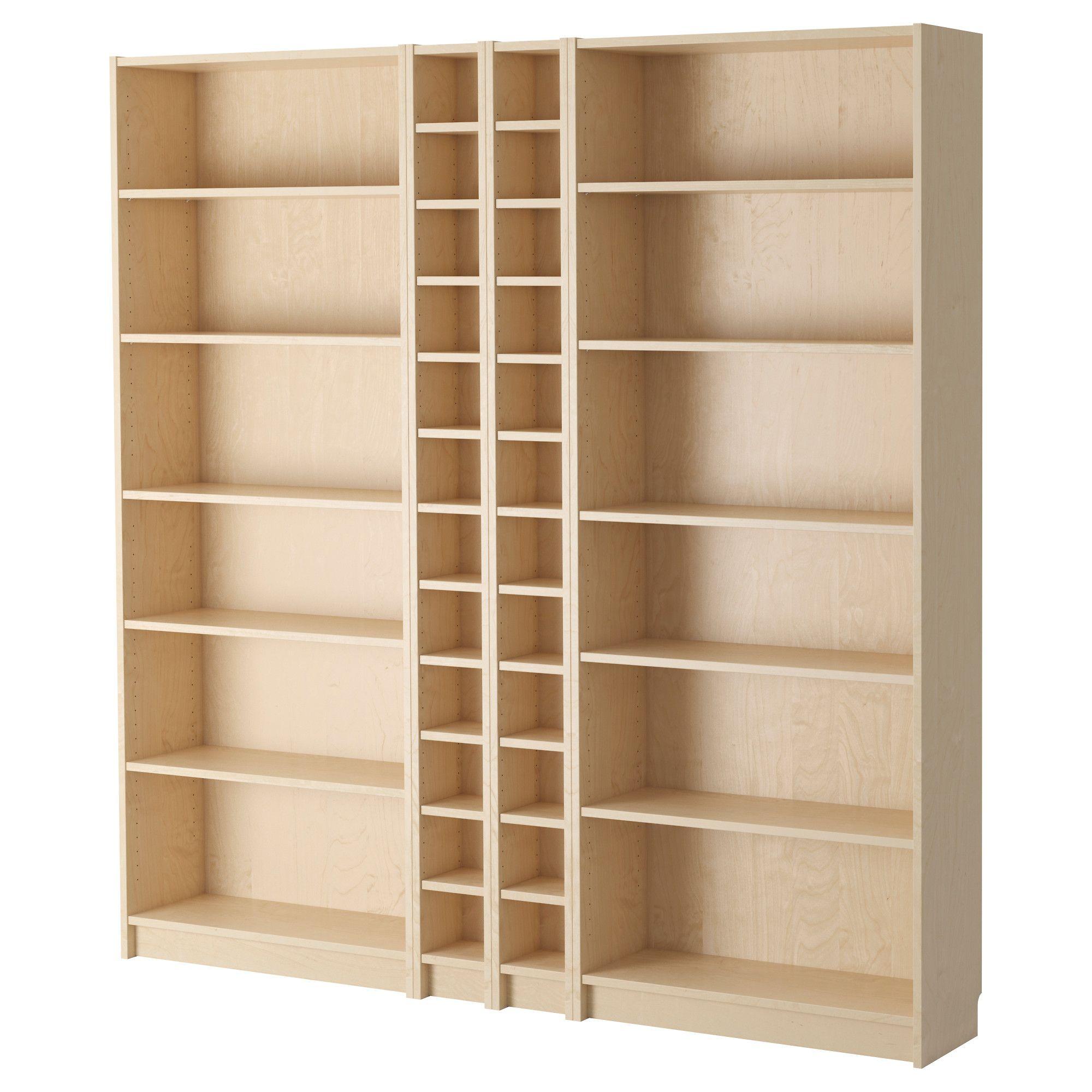 Billy Gnedby Bookcase Birch Veneer 78 3 4x11x79 1 2 Ikea Billy Bookcase Ikea