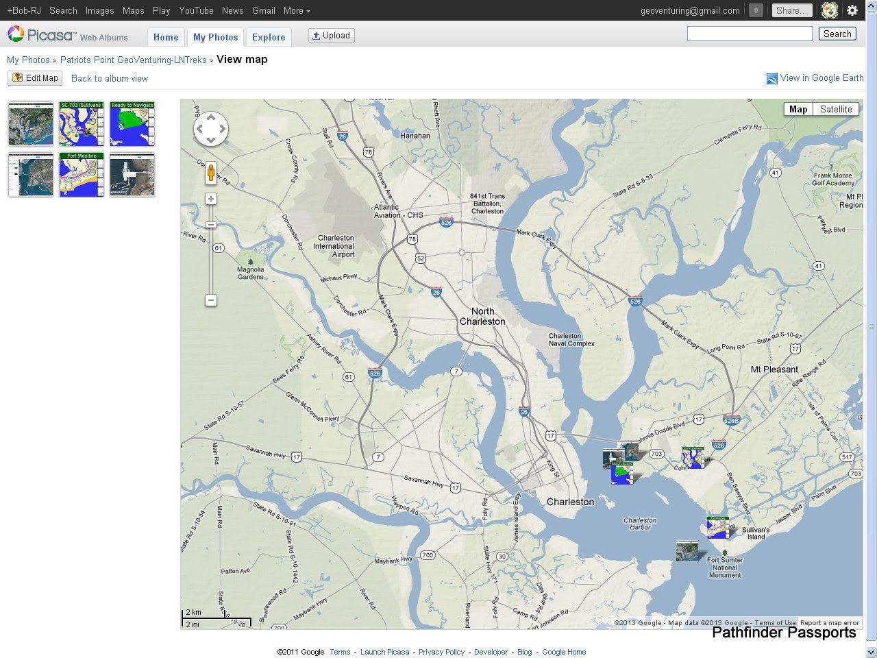 thinkLets / Charleston Harbor NCAPS BioGeography mapXchange CHSites